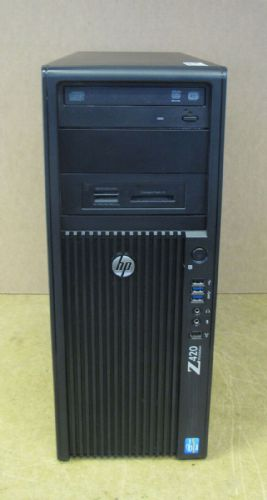 HP WorkStation Z420 Tower Xeon E5-1620v2 3.7GHz 24GB 240GB SSD 2TB HDD Win8.1